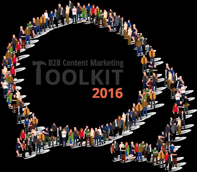 B2B Content Marketing Toolkit 2016 logo