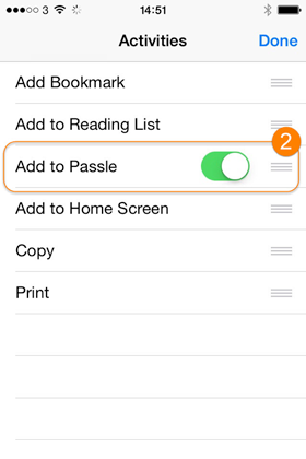 Create a Passle post in Passle Apple app - step 2