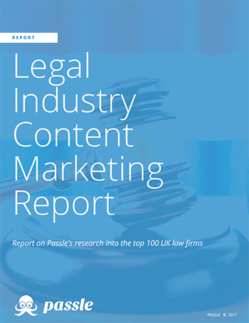 Legal Industry Content Marketing Report