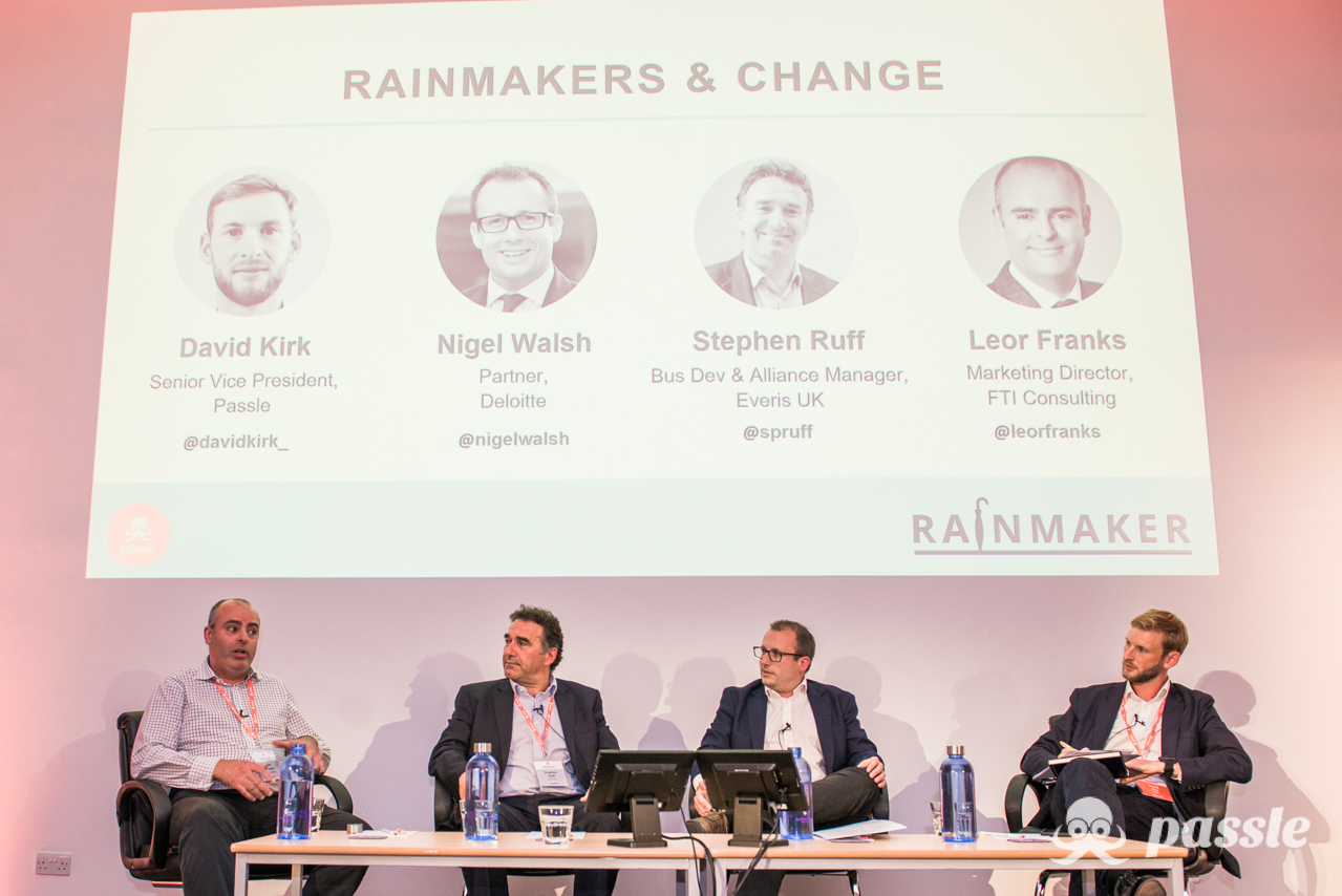 Passle Rainmaker 2018 - Expert-to-Expert Sales & Marketing Conference