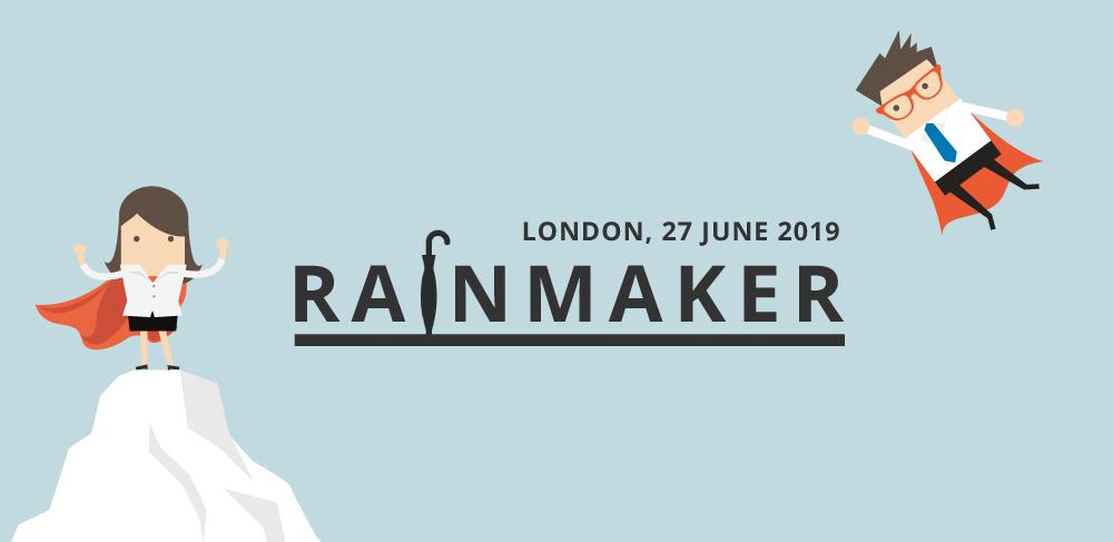 Rainmaker 2019, London, by Passle